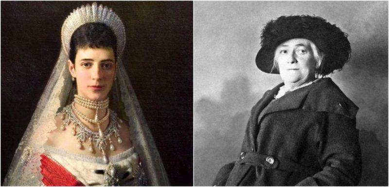 Мария Федоровна (Дагмар) и Клара Цеткин