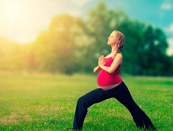 Занятия спортом для беременной