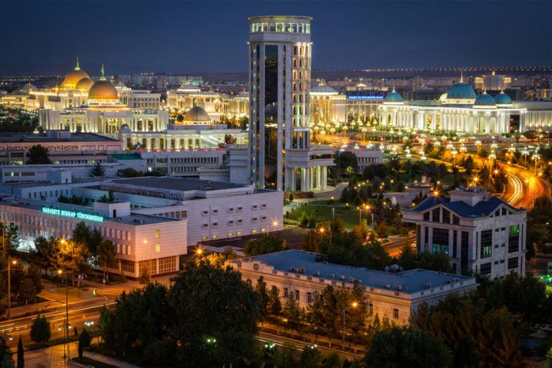 Фото. Ашхабад, Туркменистан. Автор: Jakub Buza / Shutterstock.com.