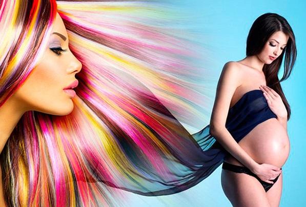 Волосы разных цветов